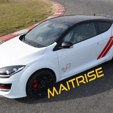 Formation traction <strong>Maîtrise</strong> sur Megane RS CUP