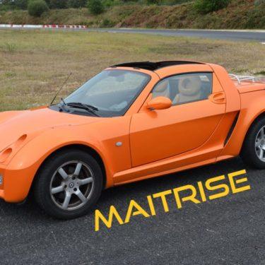 Formation au pilotage Enfants/Ados sur Smart Roadster <strong>maîtrise</strong>